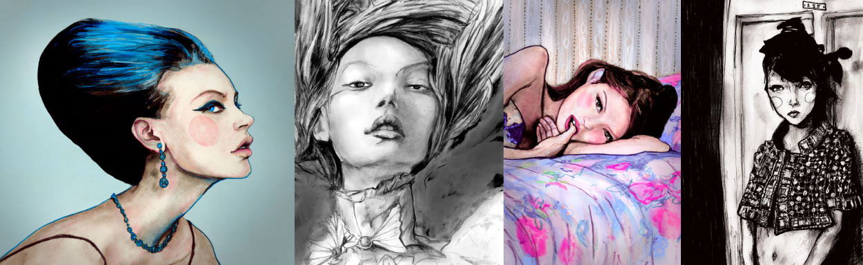 Our Top 3 Fashion Illustrators of the moment!