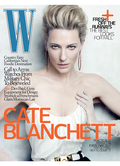 Digitalistic: Cate Blanchett's cover for W Magazine