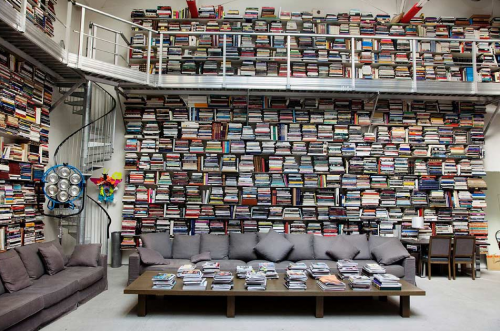 Inspiration: How many books can someone have