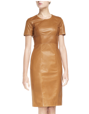 Catch of the day: LaDress leather pencil dress