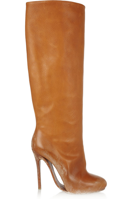 Catch of the day: beautiful brown Margiela boots