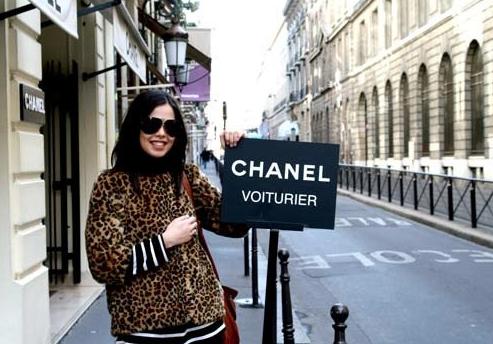 Fashion train to Paris