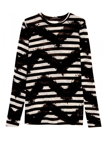 Catch of the Day: Proenza Shouler zig zag stripe Tee