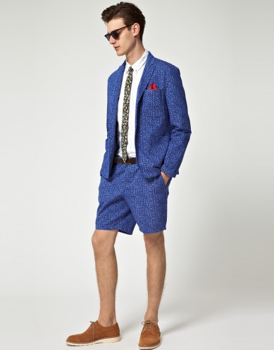 Men's Catch of the Day: leopard print blazer