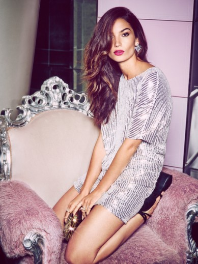 In the NOW: Lily Aldridge for Nelly.com