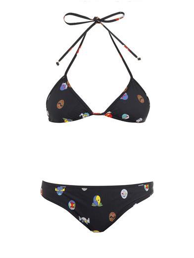Friday Fashion Envy: Stella McCartney superhero print triangle bikini