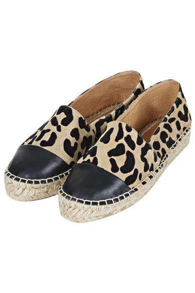 Best Budget Buy: Topshop leopard espadrilles