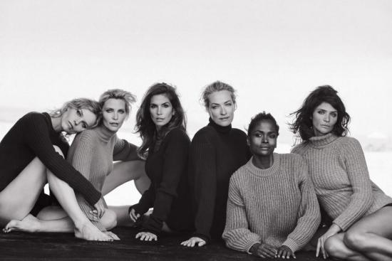 90's supermodels reunited