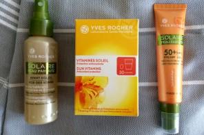 Sun Care Courtesy of Yves Rocher