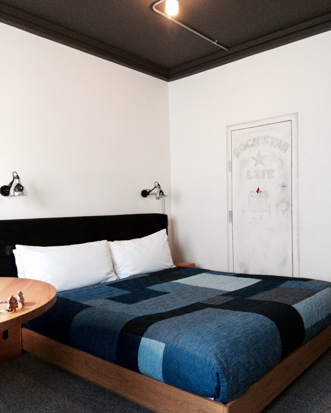 Ace hotel Shoreditch bed
