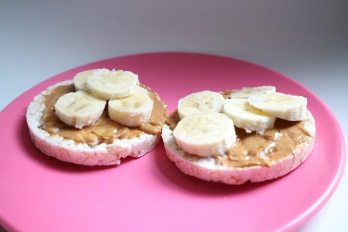 Banaan_rijstwafel ontbijt
